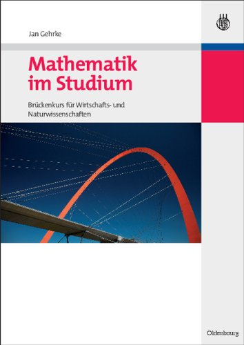 Mathematik im Studium, Cover, 1. Auflage